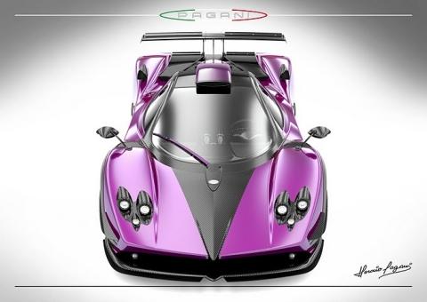 New One-off Pagani Zonda 750 01