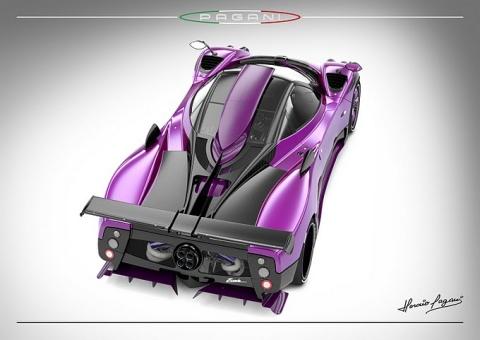 New One-off Pagani Zonda 750 02