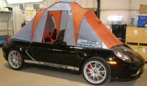 Overkill 2011 Porsche Boxster Caravelle with Roof