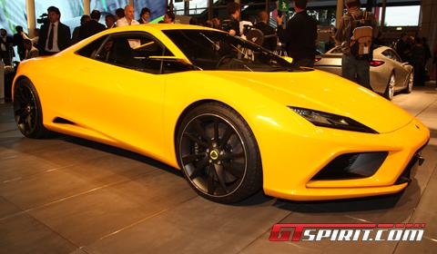 Lotus Paris Motor Show 2012