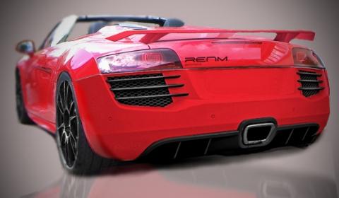 Rendering RENM performance Audi R8 Spyder