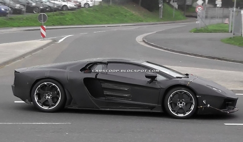 Spyshots 2012 Lamborghini Jota Shows Rims