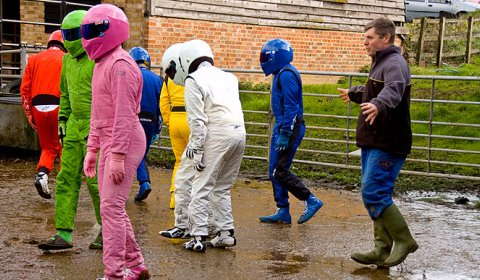 Top Gear Breeding Stigs at Farm