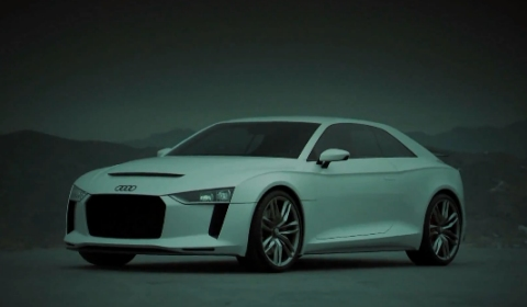 Video Audi Quattro Concept Official Footage