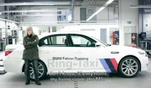 Video BMW Unscripted - Sabine Schmitz