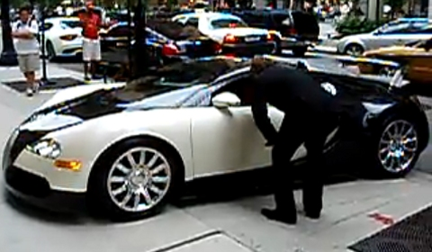 Bugatti Veyron on Video Showing A Bugatti Veyron Driven By Its Future Owner Or Shall