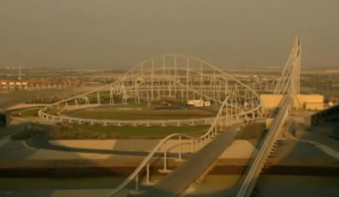 Video Ferrari World Formula Rossa Roller Coaster Ride