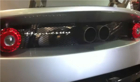 Video Listen to The 2011 Hennessey Venom GT