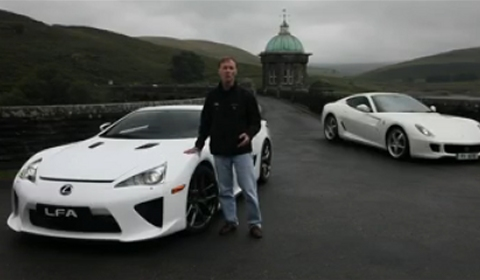 Video Of The Day Lexus LFA VS Ferrari 599 HGTE