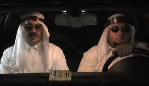 Video Of The Day Saudi's in A-u-di's by GoRemy