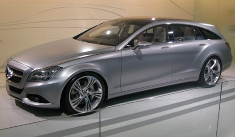 2012 Mercedes-Benz CLS Shooting Brake On Its Way