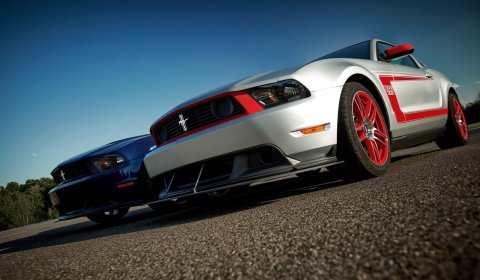 2012 mustang boss white. 2012 Mustang Boss 302 Gets