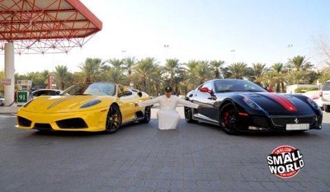 21-Year-Old Saudi Takes Delivery of Two More Supercars