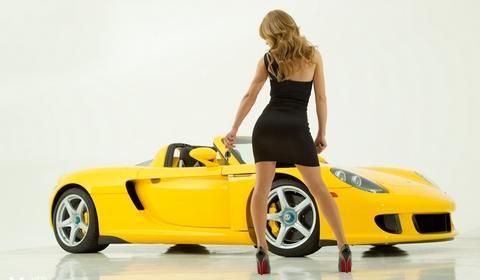 Carrera GT & Nicole