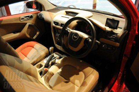 Aston Martin Cygnet on Display at Harrods 01