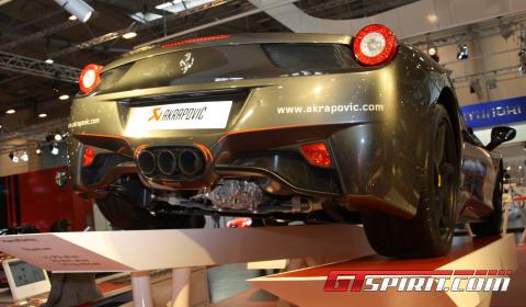Essen 2010 Akrapovic Ferrari 458 Italia
