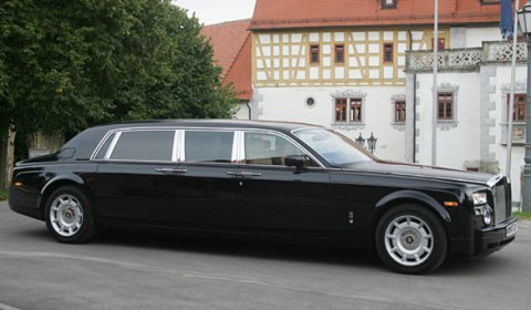 For Sale: Limited Series Armored Stretched Rolls-Royce