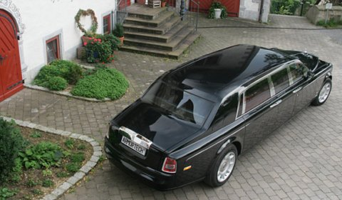 For Sale Limited Series Armored Stretched Rolls-Royce Phantom EWB 01