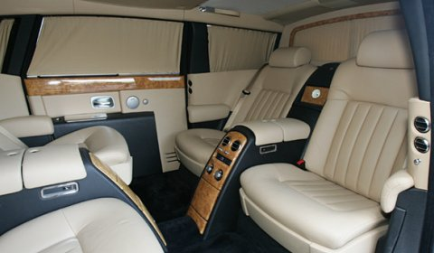 For Sale Limited Series Armored Stretched Rolls Royce Phantom Ewb