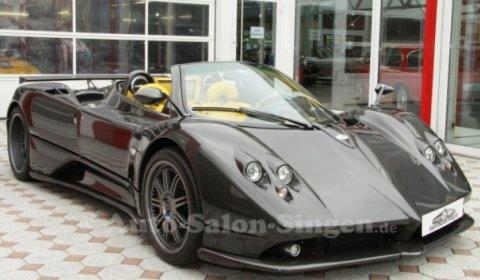 For Sale Pagani Zonda F Roadster Clubsport