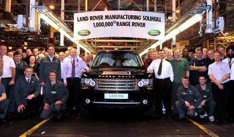 Land Rover Produces Millionth Range Rover