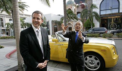 Los Angeles 2010 Rolls-Royce and Bijan Pakzad Partnership
