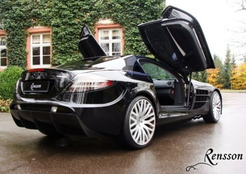 Mercedes SLR McLaren by Rensson 01