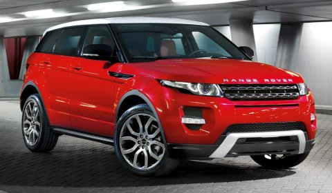 Official 2011 Five-door Range Rover Evoque