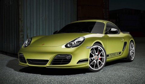 Official 2012 Porsche Cayman R