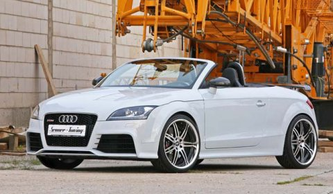 Official Senner Tuning Audi TT-RS with 430hp