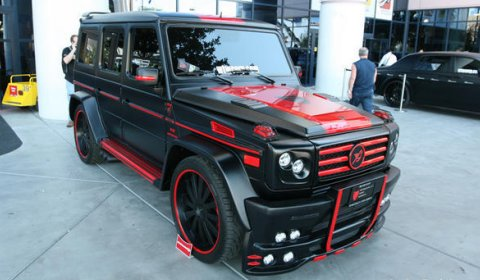 Overkill: Mercedes-Benz G55 AMG by SCC