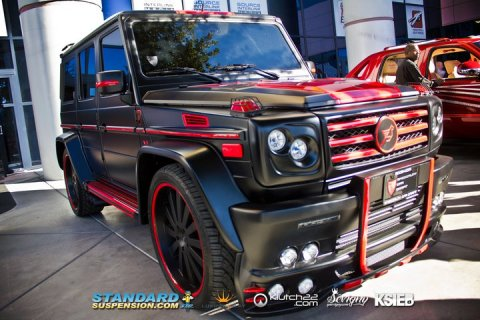 Overkill: Mercedes-Benz G55 AMG by SCC 01