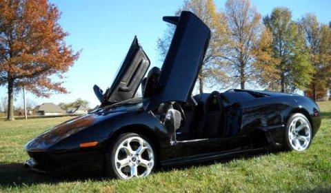 Overkill Porsche Boxster S Turned into Lamborghini Murcielago Roadster