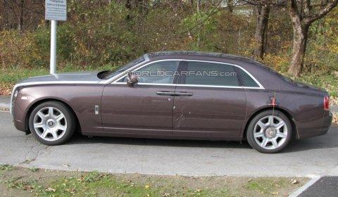 Spyshots 2011 Rolls-Royce Ghost Extended Wheelbase (EWB)