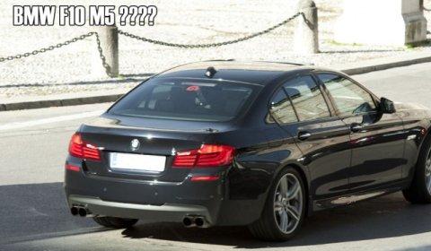 Spyshots 2012 BMW M5 F10 Without Camouflage