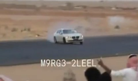 Video 2010 BMW 7-Series Drifting in Saudi
