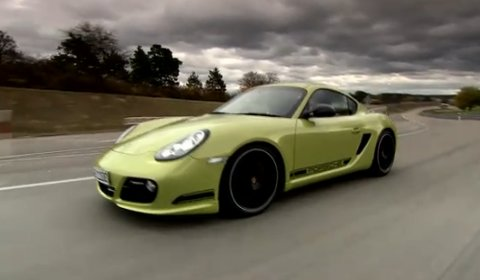 Video 2012 Porsche Cayman R in Action
