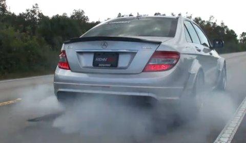 Video Akrapovic Full Titanium Mercedes-Benz C63 Exhaust System