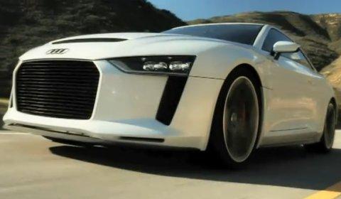 Video Audi Quattro Concept Meets 1984 Quattro Coupe