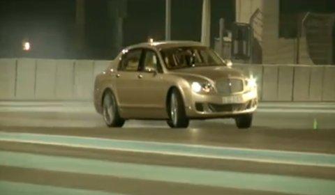 Video Bentley at Yas Marina Circuit Abu Dhabi