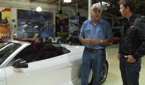 Video Jay Leno Drives Audi R8 V10 Spyder