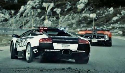 Video Pagani VS Lamborghini - Need for Speed Hot Pursuit