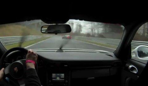 Video Porsche GT3 & BMW M3 CSL at Nürburgring Nordschleife