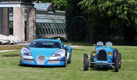 Bugatti Veyron & it's Predecessors
