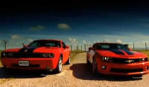 Worksheet. Video Chevrolet Camaro SS VS Dodge Challenger SRT8  GTspirit