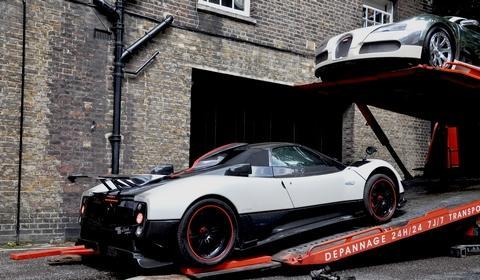 Pagani Zonda Cinque & Bugatti Veyron