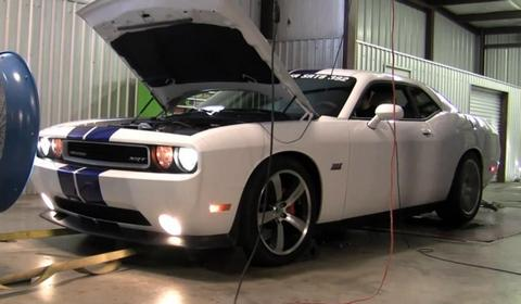 Dodge Challenger SRT8 392 HEMI Dyno Test