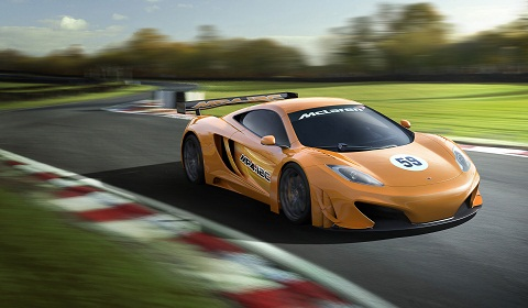 McLaren MP4-12C GT3 Car