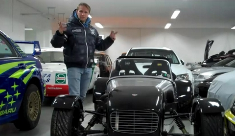 Petter Solberg's Car Collection