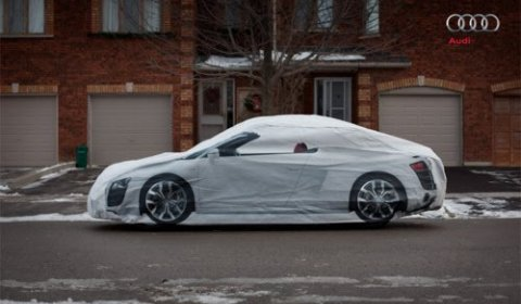 Audi R8 Spyder Car Cover for Unhappy BMW and Mercedes Owners